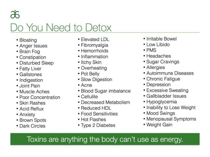 do you need to detox