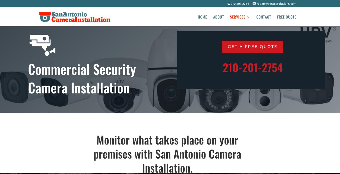 security camera installation san antonio texas