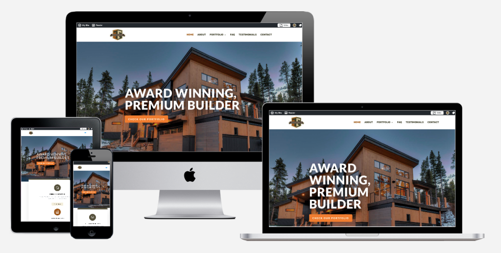 thebeau construction website