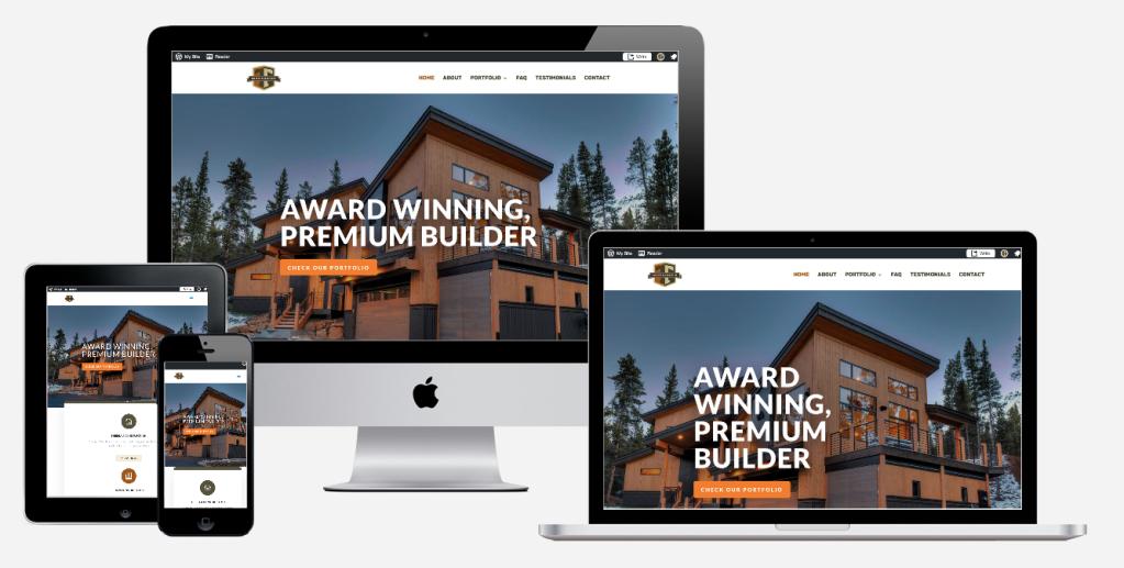 thebeau construction website