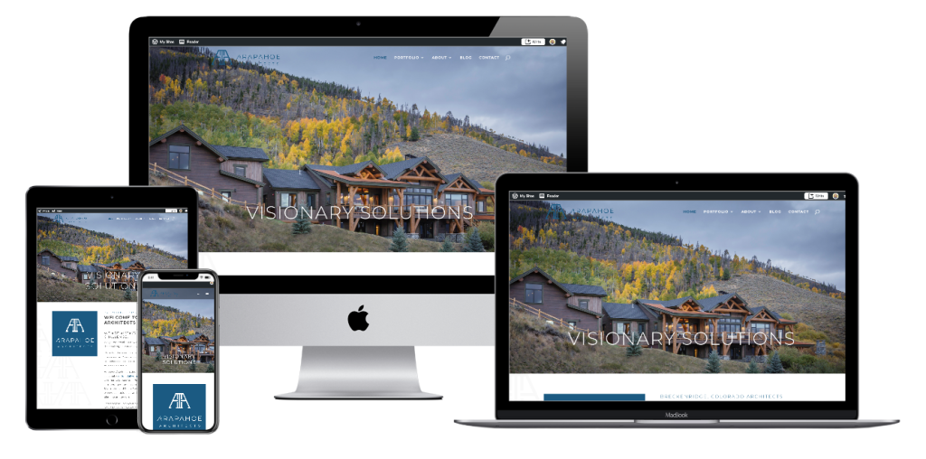 arapahoe architects website design