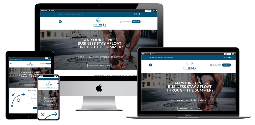 the fitness accounting firm website